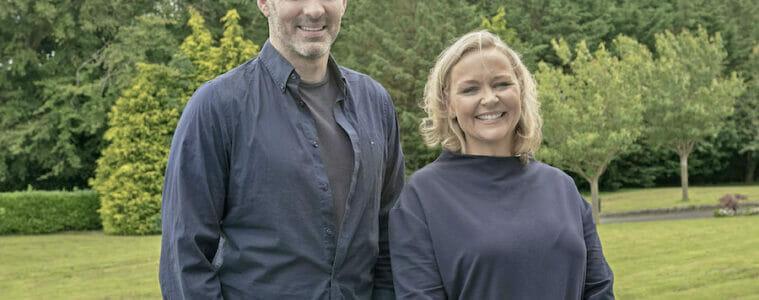 Richie Sadlier and Elaine Byrnes