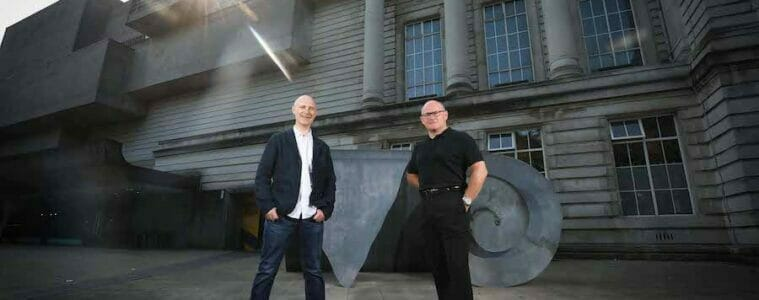 Andrew Bruce, Head of Delivery NI, Expleo Group and Colin Catney, Chief Operating Officer, National Museums NI