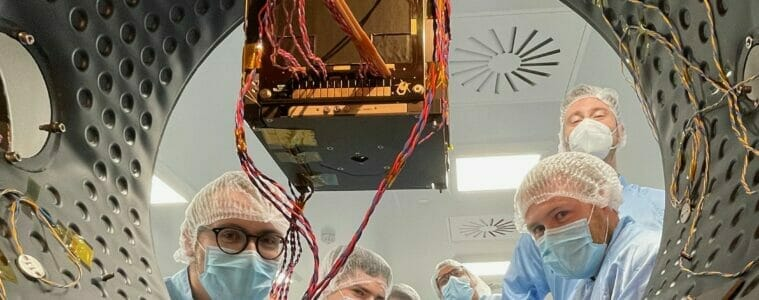 Ireland's first satellite measuring up at ESA for Space Week