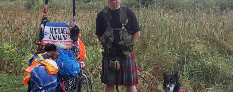 Perthshire man's epic coast-to-coast hike across Canada to help rewild the Highlands